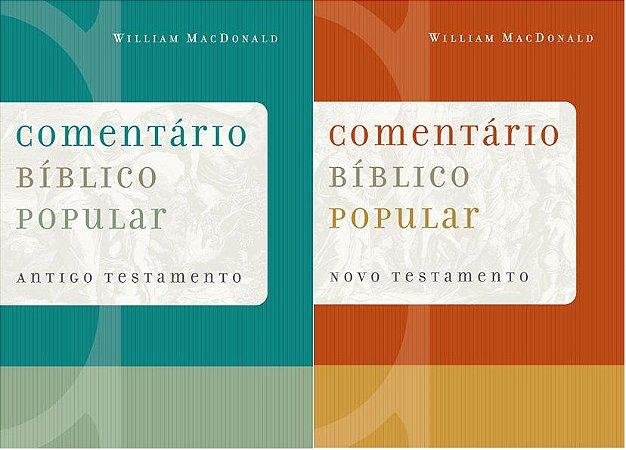 Comentário Bíblico Popular em 2 volumes (AT & NT)