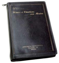 Hinos & Cânticos, capa almofada, com música e zíper