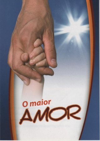 O Maior Amor (pacote missionário com 20)