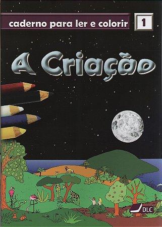 A Criação - livro para colorir com maquete (idade 5 a 10 anos)