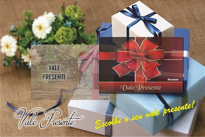 Vale Presente (Gift Card) por email - R$10,00 ou múltiplos - leia a descrição!!