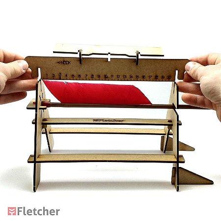 Fletcher - Gabarito/Empenador para Fabricação de Flechas - Fletching Jig