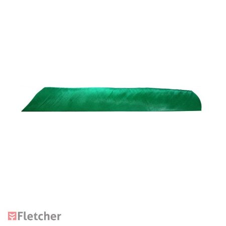 Pena de Peru Inteira Bearpaw Verde LW (Full Length Feather)