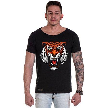 Camisa Camiseta Personalizada Tigre