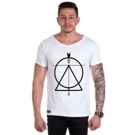 Camisa Camiseta Personalizada Circulo Triangulo