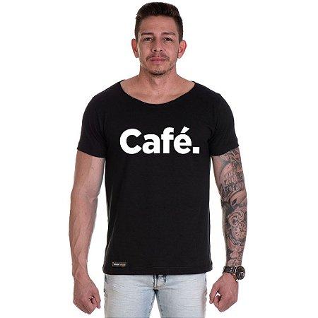 Camisa Camiseta Personalizada Café