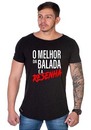 Camiseta Lucas Lunny Oversized Longline Balada Resenha