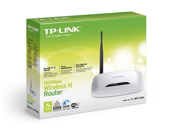 ROTEADOR WIRELESS TP-LINK TL-WR740N 150MBPS