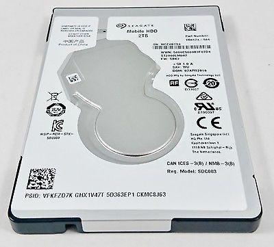 HD SEAGATE 2TB SATA3 5400RPM (NOTEBOOK)