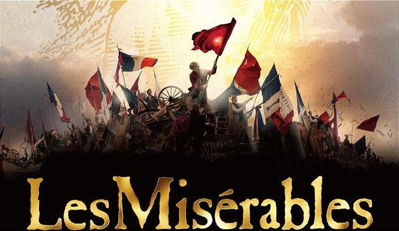 Musical Les Miserables - Estréia 10/03/2017