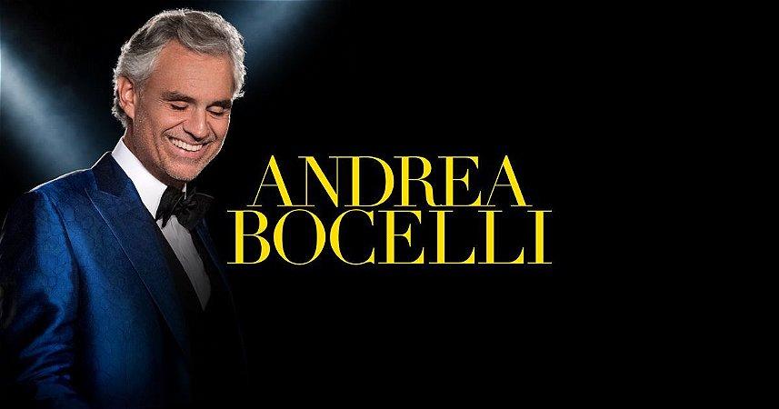 SHOW ANDREA BOCELLI - DIA 29/09/2018