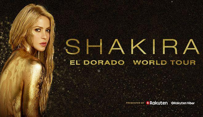 Shakira El Dorado Tour - 21/10/2018