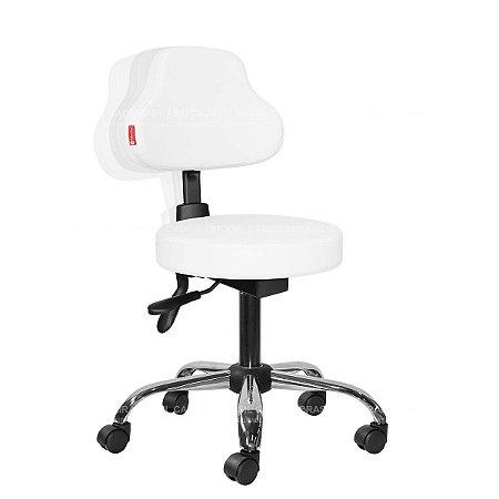 Cadeira Mocho Ergonômico Estética, Fisioterapia, Odontologia Plus Cadeira Brasil CB 1584