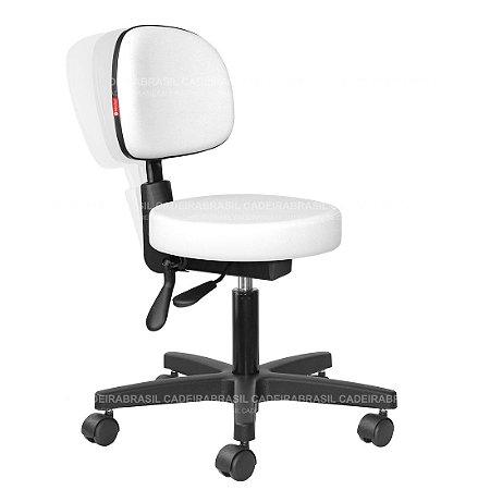 Cadeira Mocho Ergonômico Estética, Fisioterapia, Odontologia Secretária Cadeira Brasil CB 1630