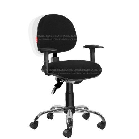 Cadeira Escritório Ergonômica Tecido Varias Cores Cb37