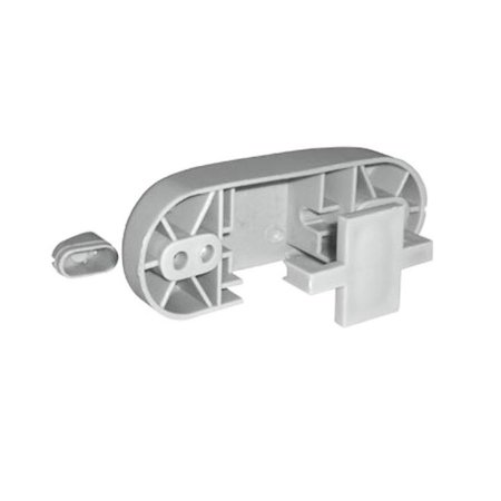 Kit Canoa para Encosto de Cadeira de Escritório Cinza Com Parafusos