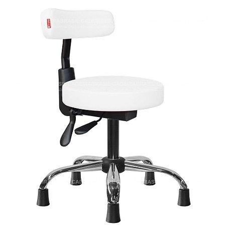 Cadeira Mocho Ergonômico Estética, Fisioterapia, Odontologia Slim Cadeira Brasil CB 1533
