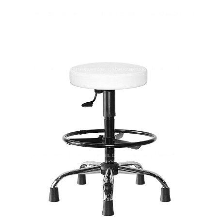 Cadeira Mocho Alto Estética, Fisioterapia, Odontologia Plus Fit Cadeira Brasil CB 1618