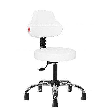 Cadeira Mocho Estética, Fisioterapia, Odontologia Plus Cadeira Brasil CB 1583