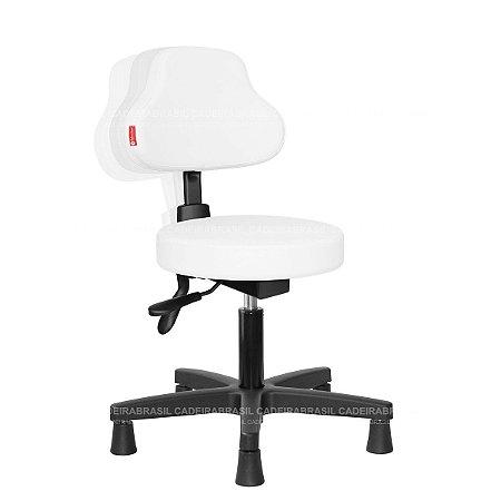 Cadeira Mocho Ergonômico Estética, Fisioterapia, Odontologia Plus Cadeira Brasil CB 1593