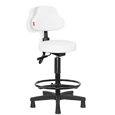 Cadeira Mocho Alto Ergonômico Estética, Fisioterapia, Odontologia Plus Cadeira Brasil CB 1585