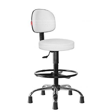 Cadeira Mocho Alto Estética, Fisioterapia, Odontologia Secretária Cadeira Brasil CB 1635