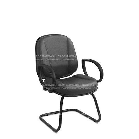 Cadeira Diretor Gomada Fixa com Braços Concert CB 603