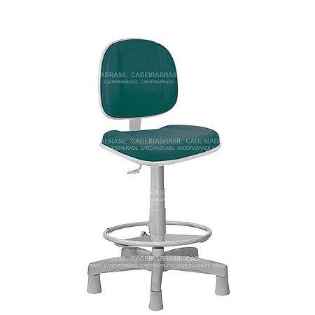 Cadeira Caixa Executiva Gomada com Base Aço Capa e Apoio de Pés Concert Plus CB 656