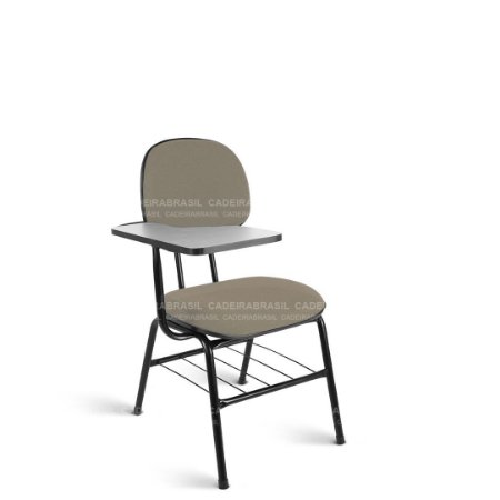 Cadeira Universitária Secretária 4 Pés Garfo com prancheta fixa Ravan CB 214