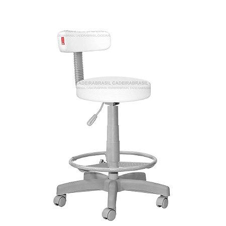 Cadeira Mocho Alto Estética, Fisioterapia, Odontologia Slim Premium Cadeira Brasil CB 1539