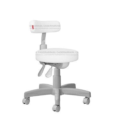 Cadeira Mocho Ergonômico Estética, Fisioterapia, Odontologia Slim Premium Cadeira Brasil CB 1537