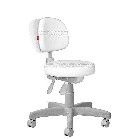 Cadeira Mocho Ergonômico Estética, Fisioterapia, Odontologia Secretária Premium Cadeira Brasil CB 1553