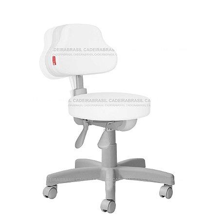 Cadeira Mocho Ergonômico Estética, Fisioterapia, Odontologia Plus Premium Cadeira Brasil CB 1547