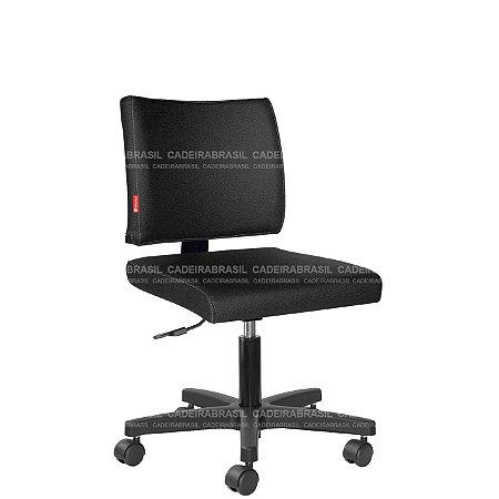 Cadeira Escritório Executiva Base Aço Capa Ideale CB 3026