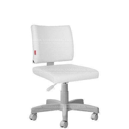 Cadeira Escritório Executiva Base Aço Capa Ideale Premium CB 3032
