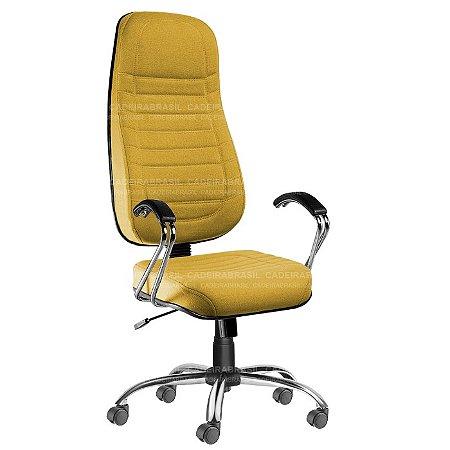 Cadeira Presidente Extra Giratória Lacerta CB 700 Cadeira Brasil