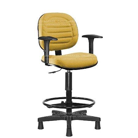 Cadeira Caixa Executiva Lacerta CB 706B Cadeira Brasil