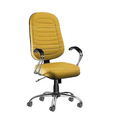Cadeira Presidente Giratória Lacerta CB 709 Cadeira Brasil