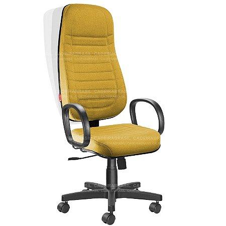 Cadeira Presidente Extra Giratória Lacerta CB 734 Cadeira Brasil