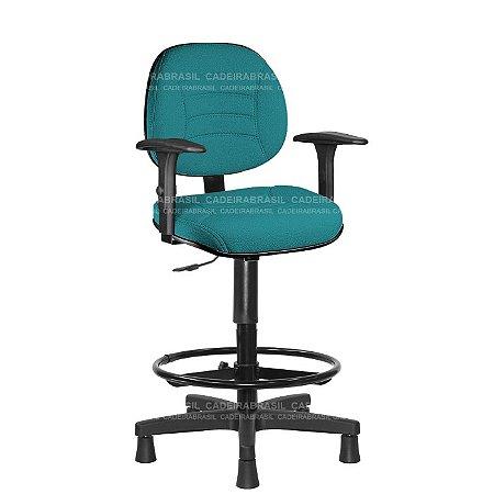 Cadeira Caixa Executiva Firenze CB 506B Cadeira Brasil