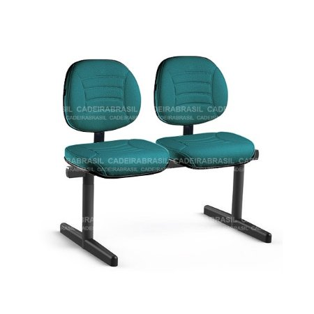 Longarina 2 Lugares Executiva Firenze CB 512 Cadeira Brasil