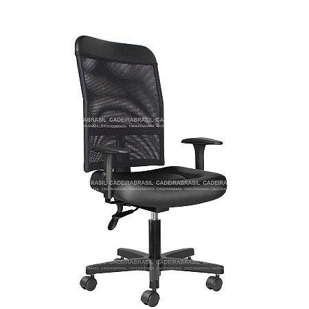 Cadeira Ergonômica Executiva New Tela CB 2024 Cadeira Brasil