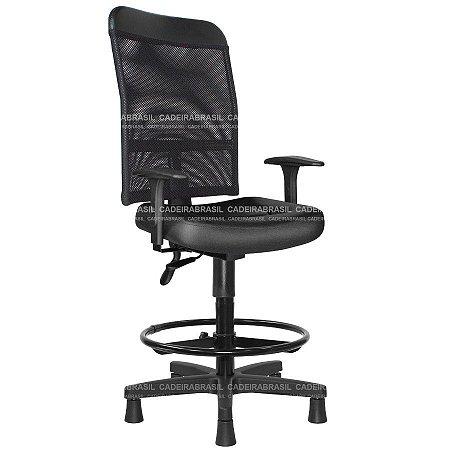 Cadeira Caixa Ergonômica Executiva New Tela CB 2025 Cadeira Brasil