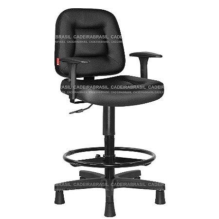 Cadeira Caixa Siena CB 1473 Braços Reguláveis Cadeira Brasil