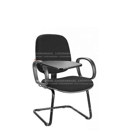 Cadeira Universitária Diretor Ravan CB 216 Prancheta Escamoteável Cadeira Brasil