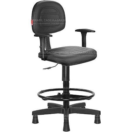 Cadeira Caixa Secretária Ravan Plus CB 130L Cadeira Brasil