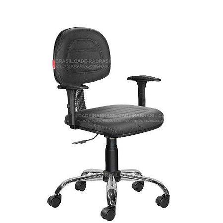 Cadeira Escritório Secretária Ravan Plus CB 130J Cadeira Brasil