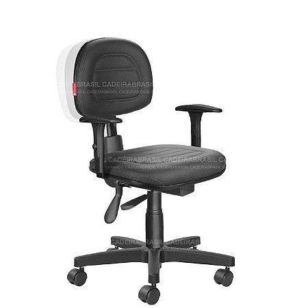 Cadeira Ergonômica Secretária Ravan Plus CB 130B Cadeira Brasil
