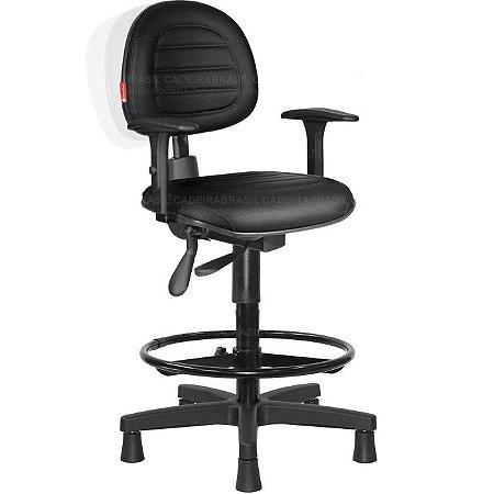 Cadeira Caixa Ergonômica Executiva Ravan Plus CB72 Cadeira Brasil