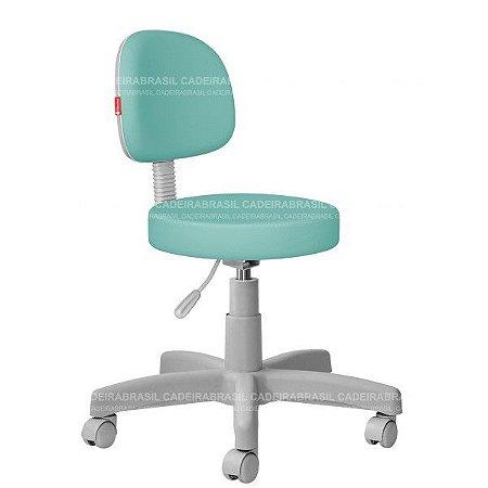 Cadeira Mocho Estética, Fisioterapia, Odontologia Secretária Premium Cadeira Brasil CB 1551